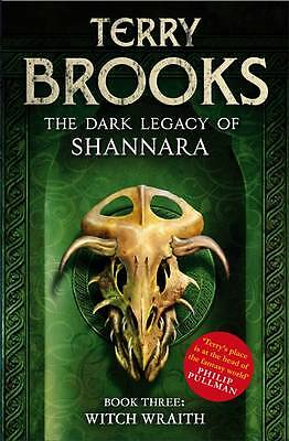 """""""AS NEW"""" Brooks, Terry, Witch Wraith: Book 3 of The Dark Legacy of Shannara, Boo"""