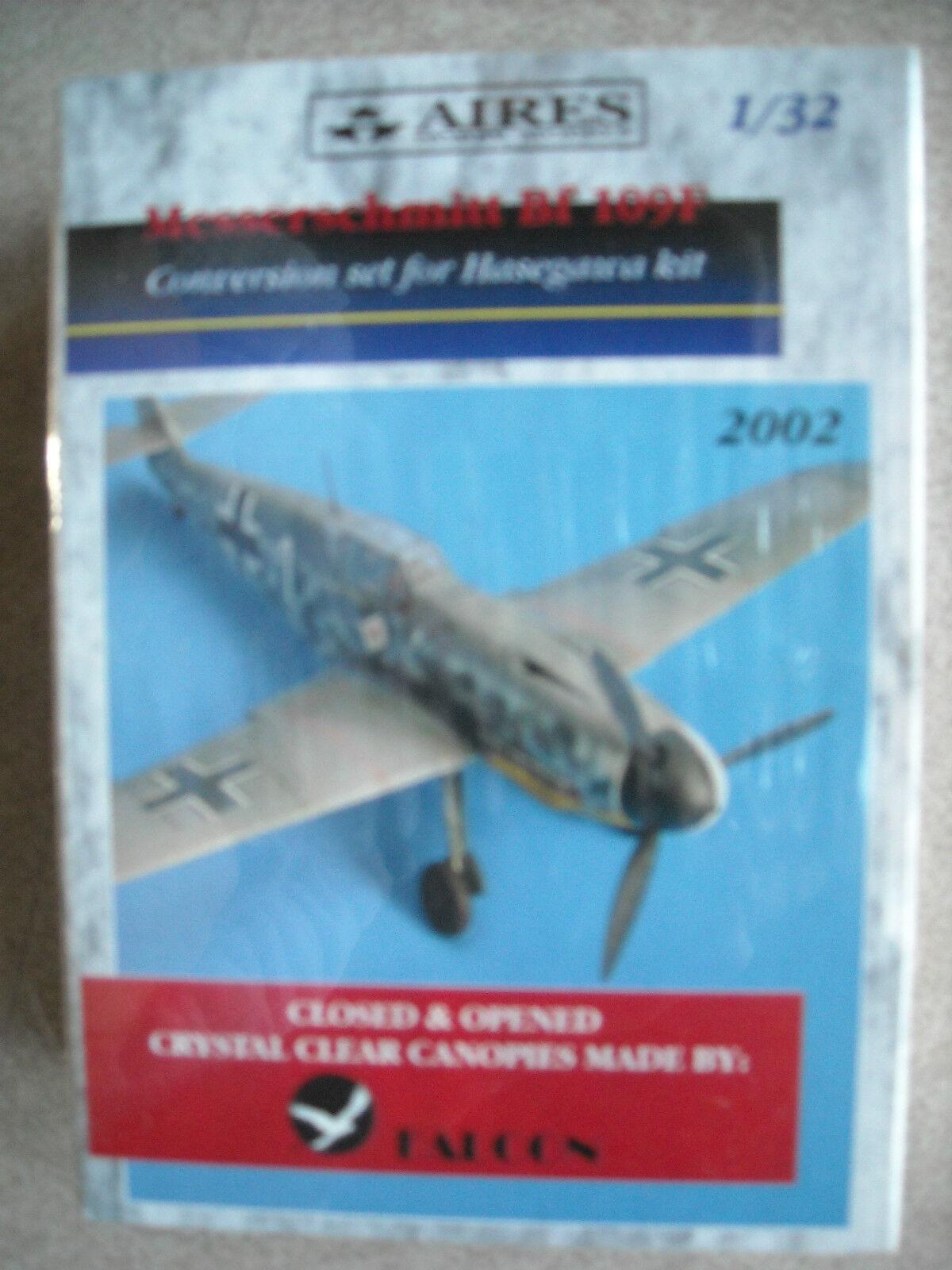 Aires 1 32  Messerschmitt Bf 109F Conversion Set for Hasegawa Kit
