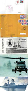 USS DEYO DD 989 DESTROYER NAVAL CACHED CARD FRONT PIECE PHOTOGRAPHS & BROCHURE