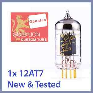 1x-Genalex-Gold-Lion-12AT7-ECC81-B739-Vacuum-Tube-TESTED