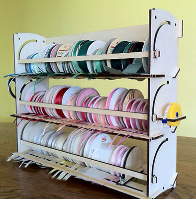 Ribbon Storage Rack Organizer Holder - 80+ spools