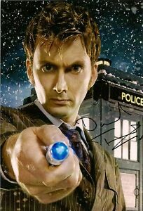 DAVID-TENNANT-TENTH-DOCTOR-WHO-SIGNED-AUTOGRAPH-6-x-4-inches-PRE-PRINED-PHOTO
