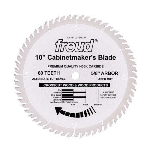 Freud LU73M012 12  Diameter X 72t ATB Cabinetmaker's Cr