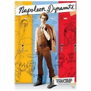 Napoleon-Dynamite-DVD-2009-Full-Frame-Widescreen-Movie-Cash-Disc-Only