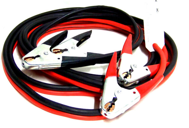 Comercial Heavy Duty 20 FT 2 Gauge Booster Cable Jumping Cables Power Jumper