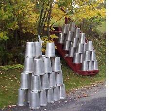 18 GREAT Aluminum Sap Buckets Maple Syrup Bucket 2 GALLON ~ NEED MORE?