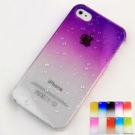 3D-Water-Drop-Dripping-Ultra-Thin-Hard-Case-Cover-For-iPhone-4S-4-Purple