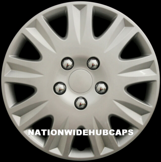 "SET OF 4 15"" Hub Caps Full Wheel Covers Rim Cap Cover Hubs for Steel Rims 8111s"