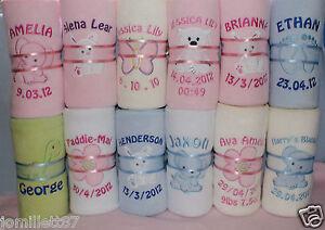 Personalised-Embroidered-Baby-Fleece-Blanket-for-Boys-amp-Girls-Christening-Gift