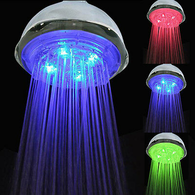New 8 inch Round Polished Chrome Finish Bathroom Bath Rainfall Shower Head