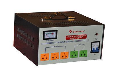 4000 Watt Voltage Converter Transformer Step Up /Down   GOLDSOURCE AR-4000