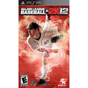 Major League Baseball 2K12 (Sony PSP, 2012)