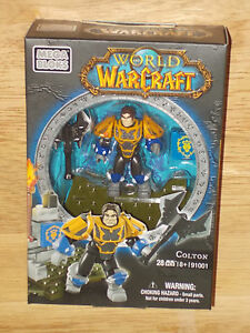 2012-Mega-Bloks-WORLD-OF-WARCRAFT-91001-COLTON-Human-Paladin-28Pcs-Micro-Figure