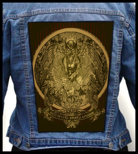 CULT OF LUNA - Eternal Kingdom === Huge Back Jacket Patch/Aufnäher