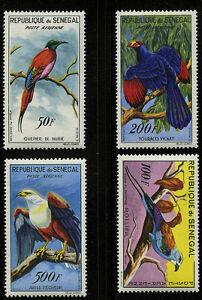 Senegal-1960-63-Scott-C26-C30-MLH-Part-Set