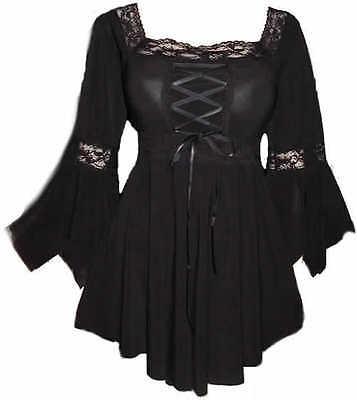Renaissance  Boho Wedding Sexy Gypsy Witchy Gothic Corset top  Plus Size 20  NWT