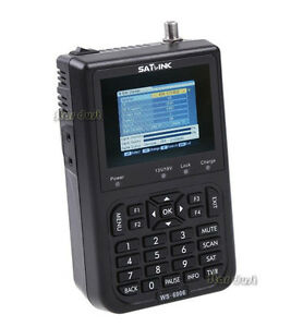 Satlink-WS-6906-DVB-S-FTA-Digital-Satellite-Finder-Meter-3000mAh-Battery