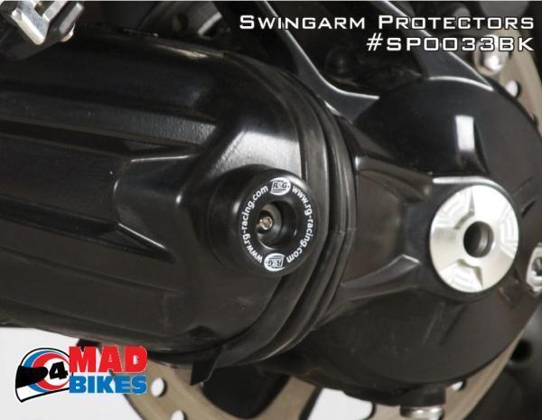 R&G SWINGARM PROTECTOR TRIUMPH TROPHY 1200 2013> & TIGER 1200 EXPLORER 2012-15