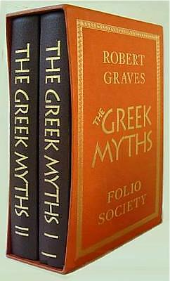 THE GREEK MYTHS ~ 2 VOLUME BOXED SET ~ FOLIO SOCIETY