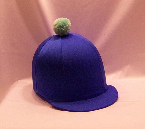 Chapeau d/'équitation housse-bleu royal