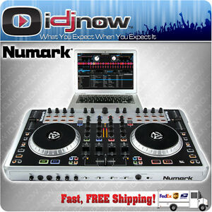 numark n4 4 deck digital dj controller mixer with serato dj intro virtual dj ebay. Black Bedroom Furniture Sets. Home Design Ideas