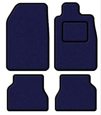 Volvo 240 / 260 74-93 Velour Blue/Black Trim Car mat set