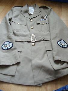 RAF-Warrant-Officer-Aircrew-Master-Aircraftman-No6-Dress-Uniform-Jacket-amp-Belt