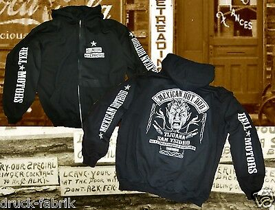 Hot Rod Kapuzenjacke Tijuana Mexico Oldschool Biker Rockabilly Shirt Sweat Jacke