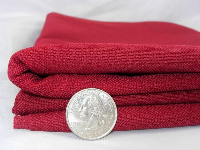 Speaker Grill Cloth RED Double Knit-36x66-JBL,Infinity Bose,Klipsch,Altec,Boston