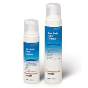 Secura-Total-Body-Foam-Skin-Cleanser-Dispenser-4-5oz-No-Rinse-Wash