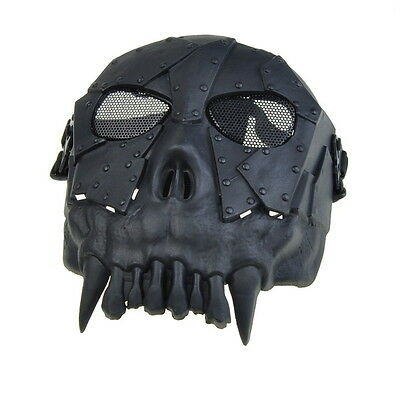 New Skull Skeleton Army Airsoft Paintball Full Face Game Protect Mask