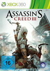 Assassin's Creed III (Microsoft Xbox 360, 2012, DVD-Box)