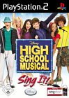 High School Musical: Sing It (Sony PlayStation 2, 2007, DVD-Box)