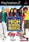 High School Musical: Sing It (Sony PlayStation 2, 2007, DVD-Box)