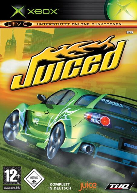 Juiced (Microsoft Xbox, 2005, DVD-Box)