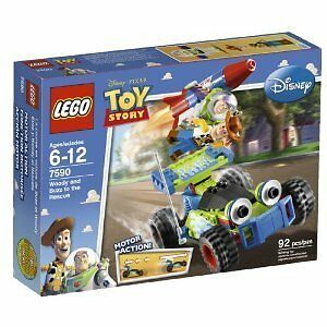 Lego Toy Story Woody And Buzz To The Rescue 7590 Ebay
