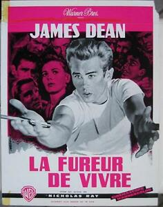 REBEL-WITHOUT-A-CAUSE-1955-JAMES-DEAN-French-FLYER