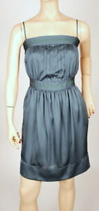 $200 NEW MAX&CLEO BY BCBG PINTUCKED SHIRRED DRESS 10