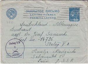 Russia,Soviet used Postal Stationery to Stalog