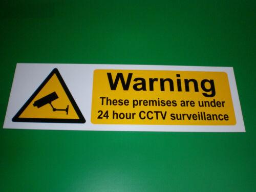 Caution Open Pit Warning Sign Or Sticker 300mm x 100mm Hazard