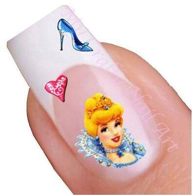 Cinderella DIsney Princess Nail Stickers, Decals, Art 01.02.081