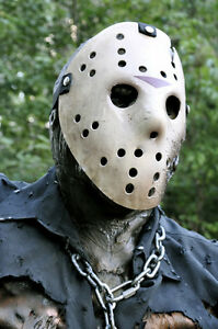 JASON-VOORHEES-mask-Friday-the-13th-Freddy-part-7-Myers-prop-movie-not-silicone