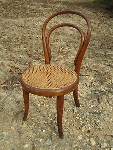 Exceptional Original Antique Thonet Bentwood Childs Chair Wien
