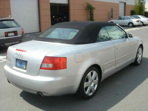Audi A4 S4 Convertible Top Hood Black German Twillfast Glass Window 2003-2009