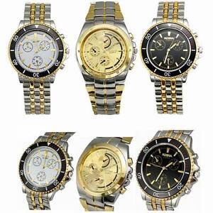 Luxury-High-Quality-Watches-Men-039-s-Quartz-Stainless-Steel-Wrist-Watches