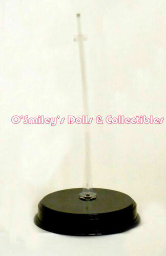 """STYLE 19367/_New ROUND Barbie Doll STAND 11 ½"""", 1966-1991 TNT GLOSSY BLACK"""