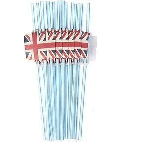 Union-Jack-British-Flag-Blue-Stripe-Party-Straws-Diamond-Jubilee-Olympics-2012