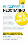 Successful Negotiating in a Week: Teach Yourself by Peter Fleming (Paperback, 2012)