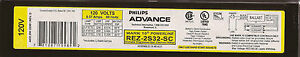 1-Advance-REZ-2S32-SC-for-2-F32T8-Dimmable-ballast-mark-10-120V-only