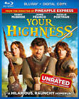 Your Highness (Blu-ray Disc, 2011, Includes Digital Copy)